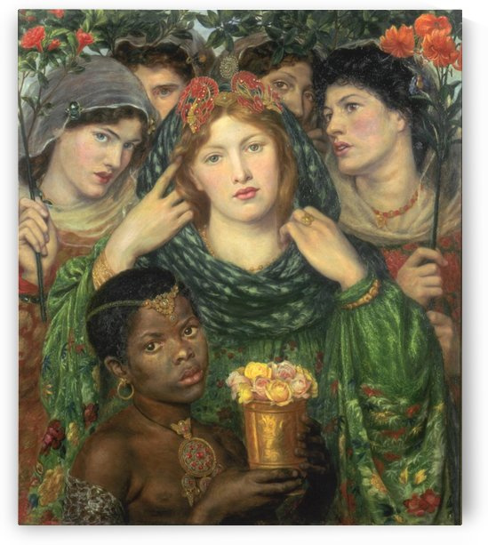The Bride by Dante Gabriel Rossetti