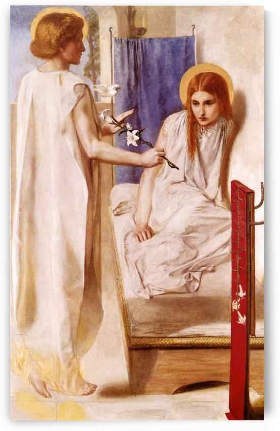 Ecce Ancilla Domini by Dante Gabriel Rossetti