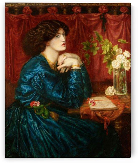 Jane Morris by Dante Gabriel Rossetti