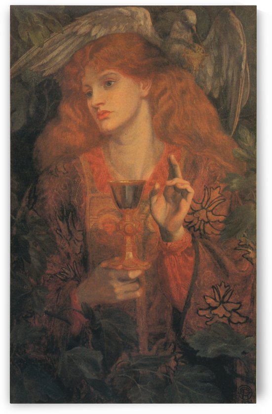Damsel of the Sanct Grael by Dante Gabriel Rossetti