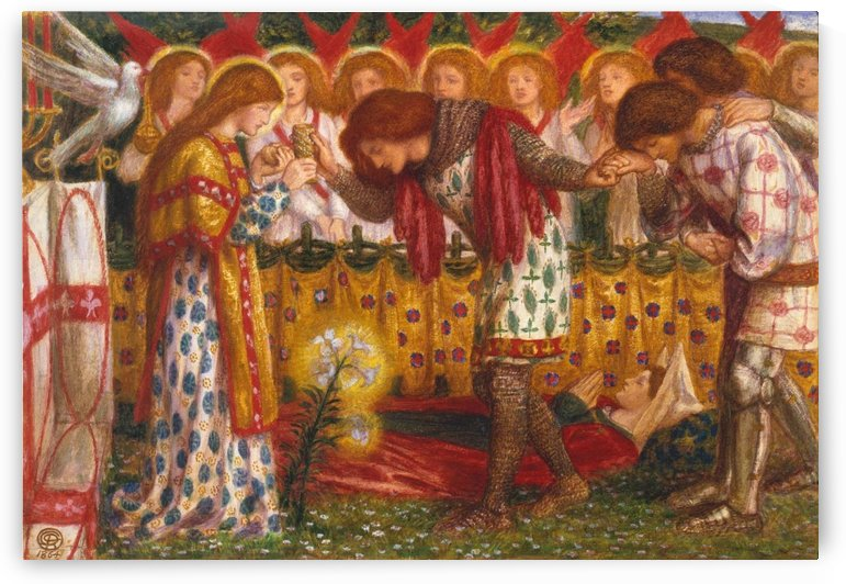 Prayer by Dante Gabriel Rossetti