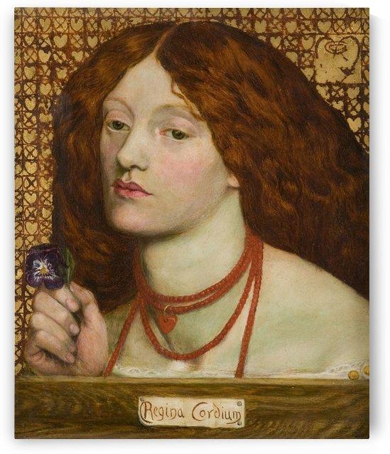 Regina Cordium by Dante Gabriel Rossetti