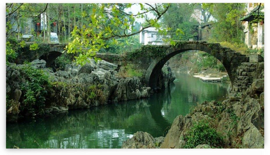 The Dragon Bridge by Lpulitude