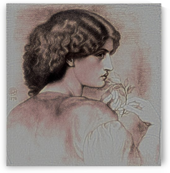The Roseleaf by Dante Gabriel Rossetti