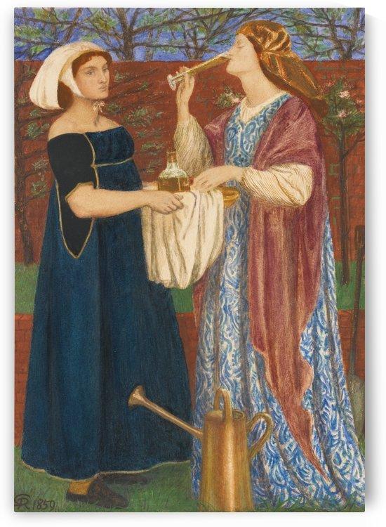 The bower garden by Dante Gabriel Rossetti