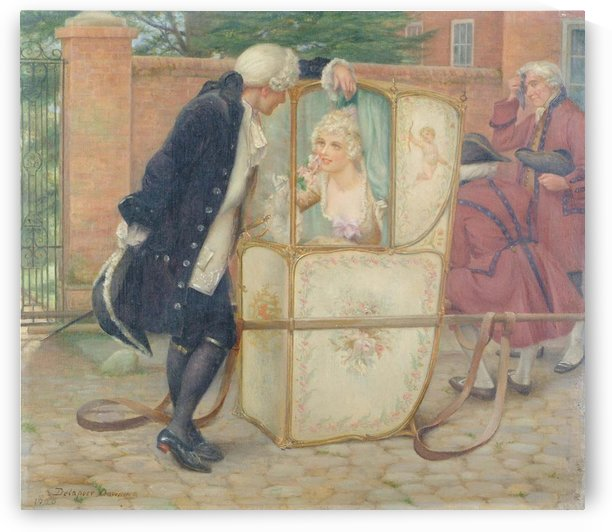The Sedan Chair by Delapoer Downing