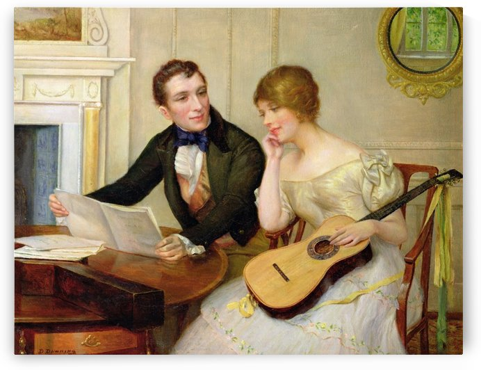 Musical interlude by Delapoer Downing