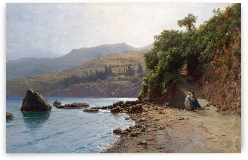 By the Sea, Crimea by Lev Lagorio