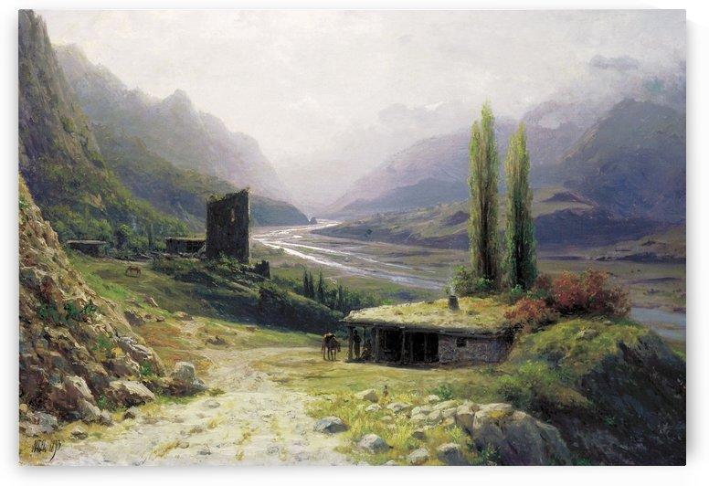 Kavkaz Landscape by Lev Lagorio