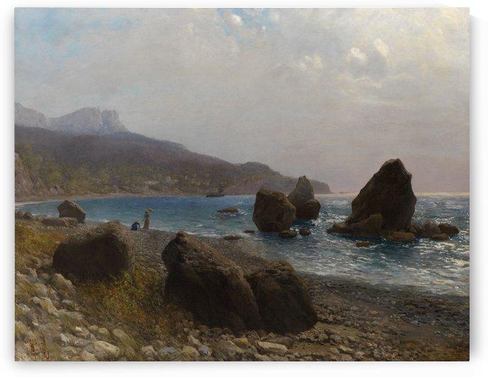 Sea Shore, Crimea by Lev Lagorio