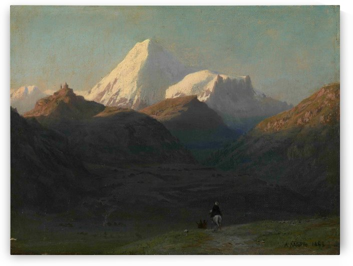 Mountain Landscape by Lev Lagorio