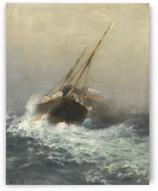 Steamship by Lev Lagorio