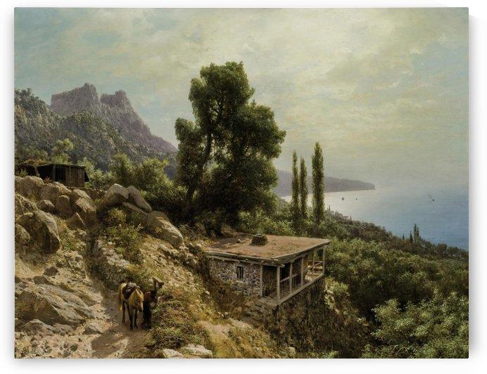 Near Ay-Petri in the Crimea by Lev Lagorio
