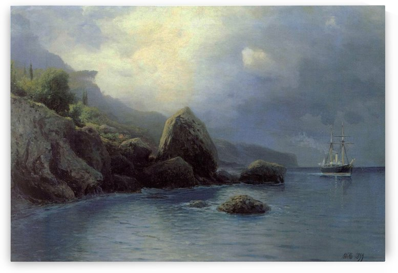 On Shore by Lev Lagorio