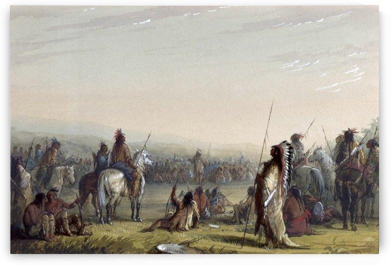 Indian Council by Albert Bierstadt