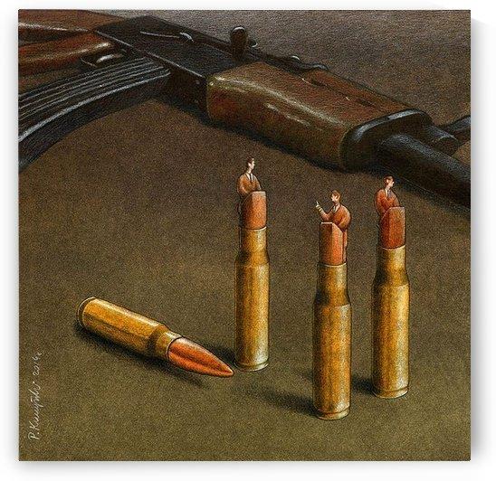 Bullets by Pawel Kuczynski