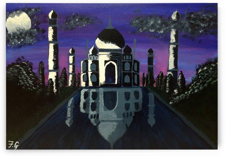 Taj Mahal by Fatima Geloo