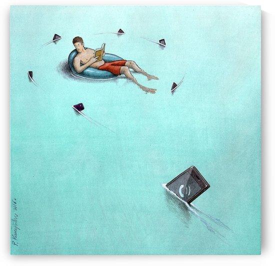 Sharks by Pawel Kuczynski