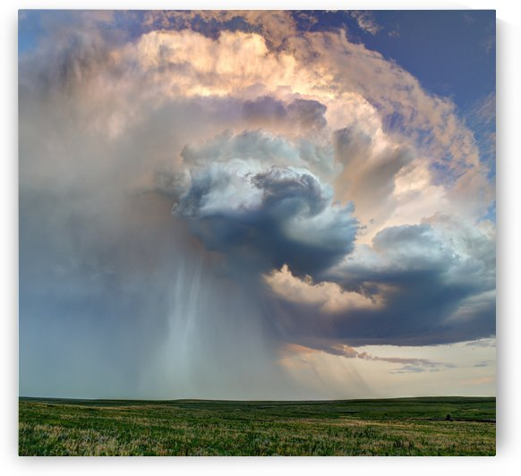 July Rain Storm by Dave Leiker