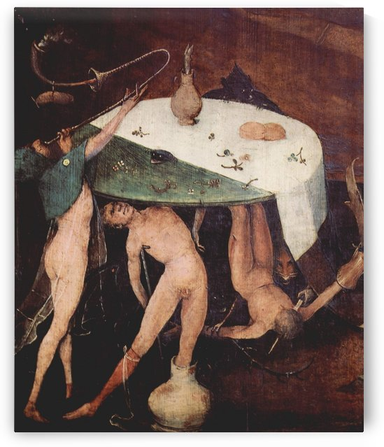 Table of luxury by Hieronymus Bosch