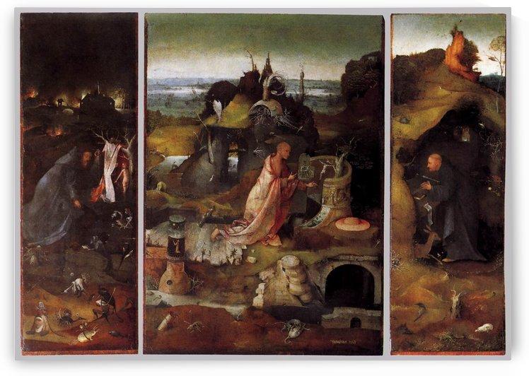 Hermit Saints Triptych by Hieronymus Bosch