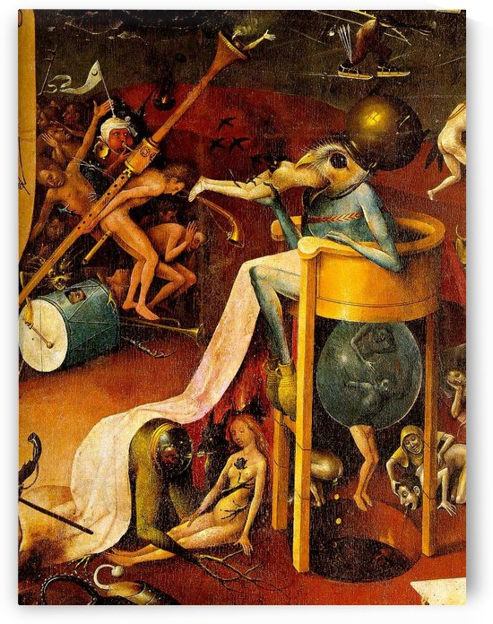 Bird-Headed Monster by Hieronymus Bosch
