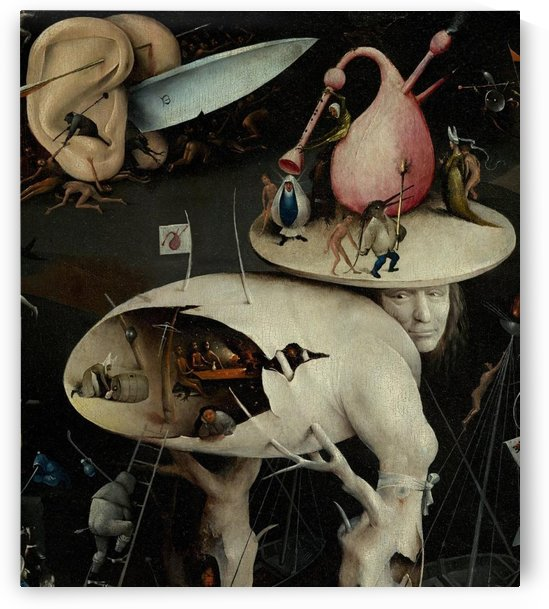 Jardin des delices detail by Hieronymus Bosch