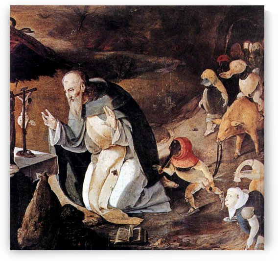The Temptation of St Anthony by Hieronymus Bosch