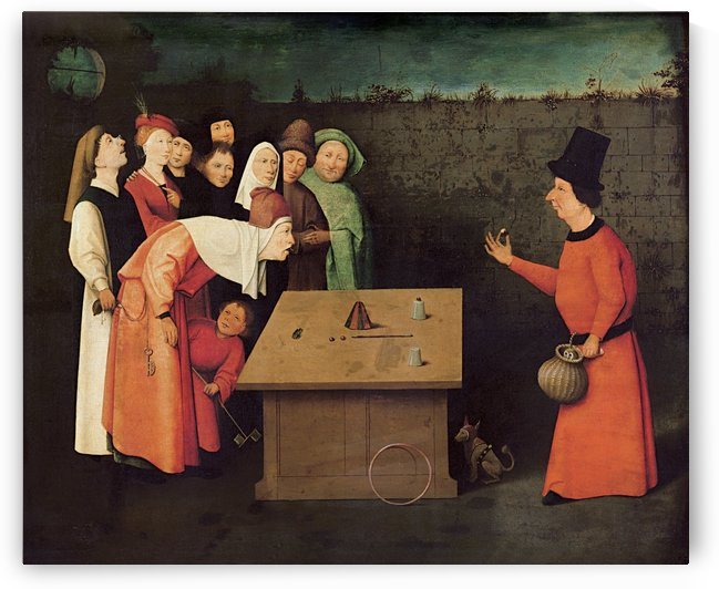 The Conjurer by Hieronymus Bosch