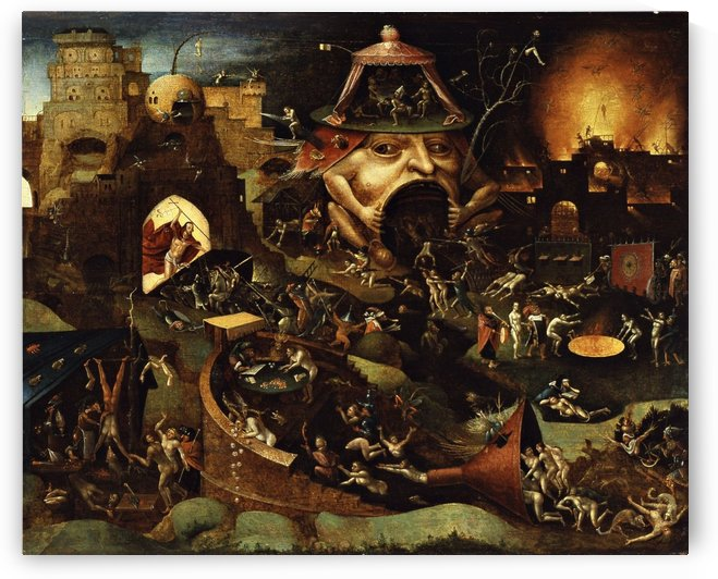 The Harrowing of Hell by Hieronymus Bosch