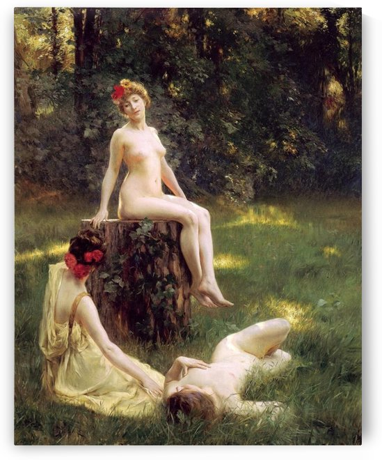 The Glade by Julius LeBlanc Stewart