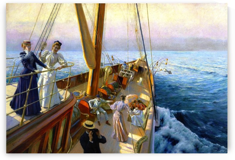 Yachting in the Mediterranean by Julius LeBlanc Stewart