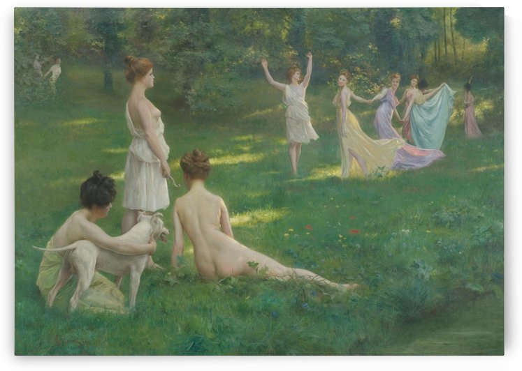 Les chasseuresses by Julius LeBlanc Stewart