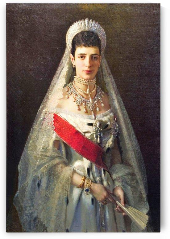 Empress Maria Feodorovna 1882 by Ivan Nikolaevich Kramskoi