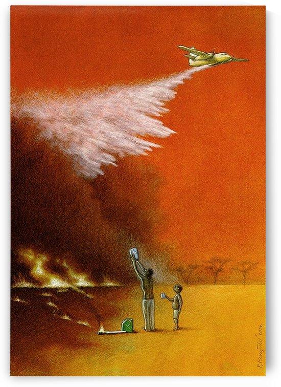 Fire by Pawel Kuczynski