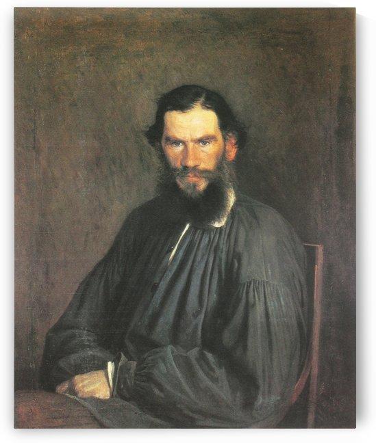 Leo Tolstoy, 1873 by Ivan Nikolaevich Kramskoi