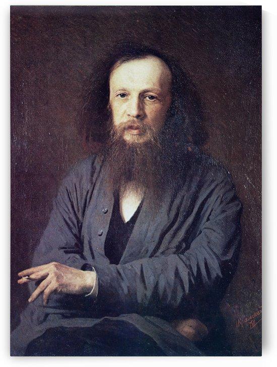 Mendeleev by Ivan Nikolaevich Kramskoi