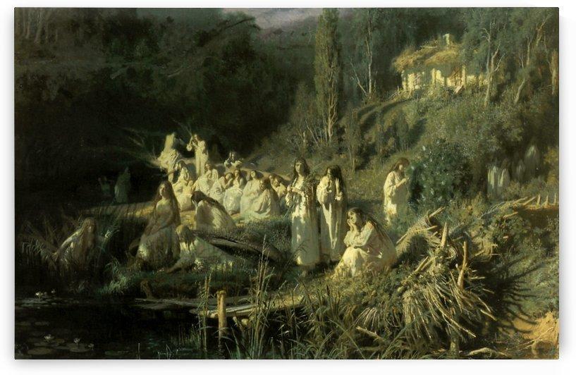 The Mermaids, 1871 by Ivan Nikolaevich Kramskoi