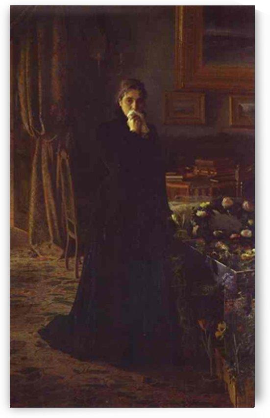 Unconsolable Grief by Ivan Nikolaevich Kramskoi