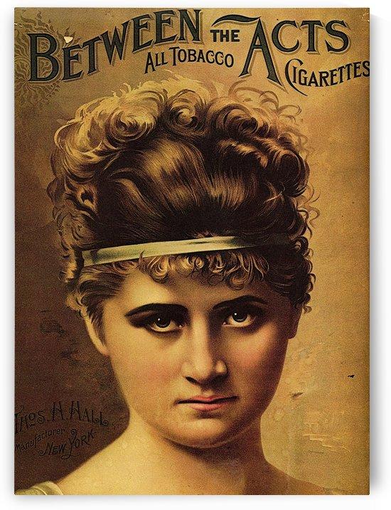 Vintage Cigarette Poster 1890 by VINTAGE POSTER