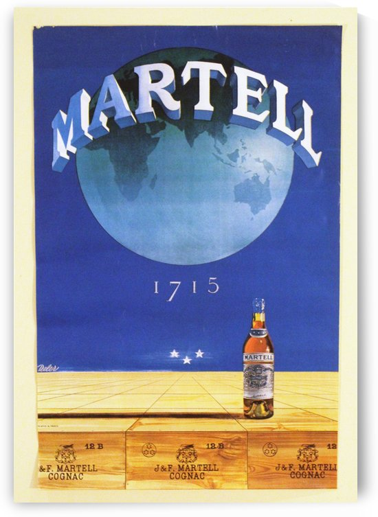 Martell by VINTAGE POSTER