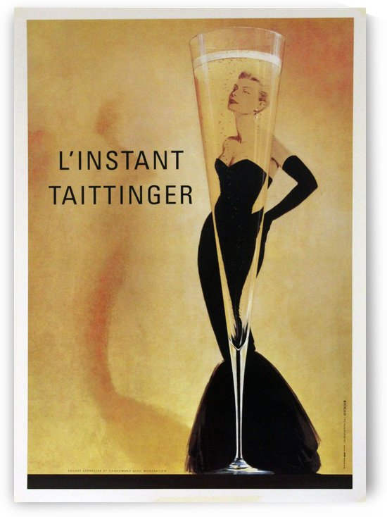 Instant Taittinger by VINTAGE POSTER