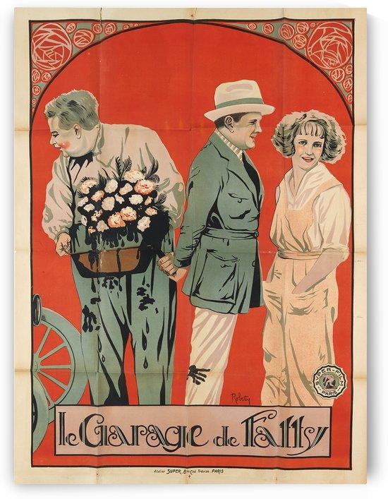 Le Garage de Fatty vintage poster by VINTAGE POSTER