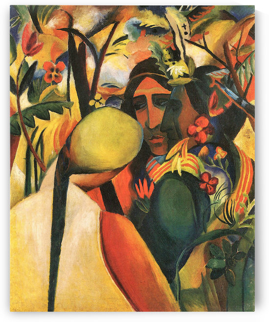 Indians by August Macke by August Macke