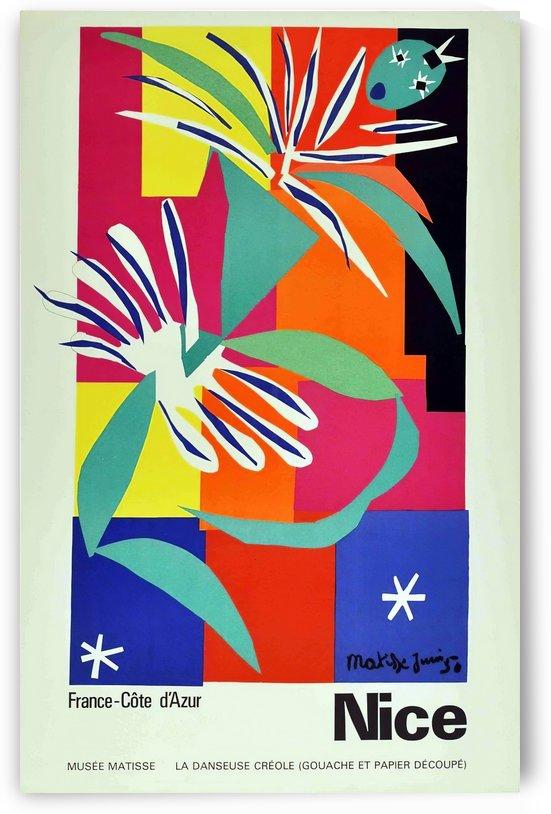 Henri Matisse Original vintage poster for Nice by VINTAGE POSTER