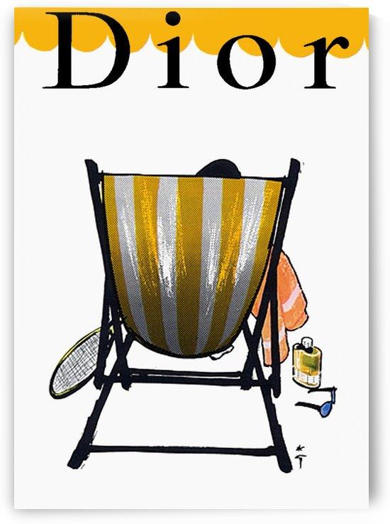 Dior Vintage Poster by VINTAGE POSTER