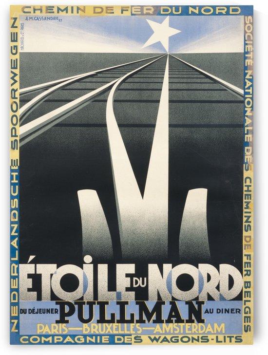 Etoile du Nord Original Poster by VINTAGE POSTER