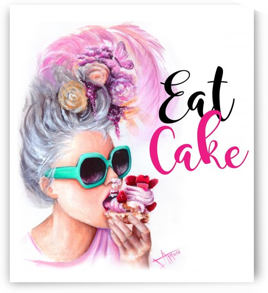 eat cake by Salma Nasreldin
