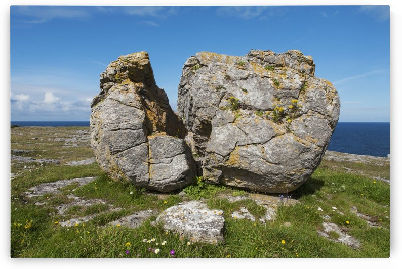 Split Rock near Fanore; Burren, County Clare, Ireland by PacificStock