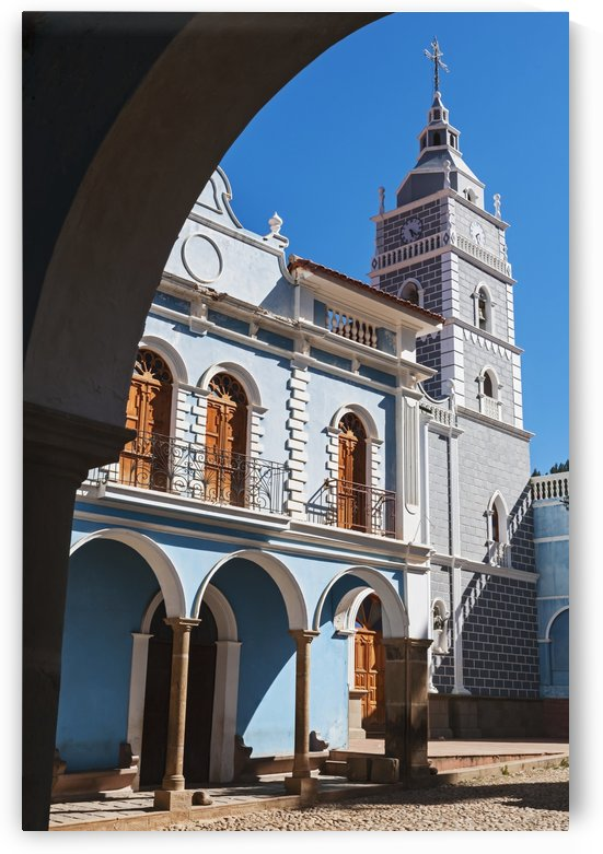 Colonial church at main plaza; Tortora, Departamento Cochabamba, Bolivia by PacificStock